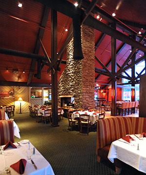 Rafters Restaurant Interior